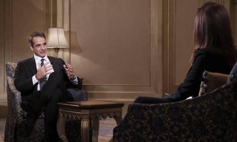 Μητσοτάκης στο Sky News Arabia: Ταραχοποιός η Τουρκία, παραβιάζει τον ελληνικό εναέριο χώρο