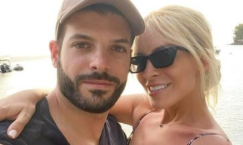 Κατερίνα Καινούργιου: Έγινε viral αυτό που είπε για τον σύντροφό της on air