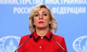 Захарова назвала грубой провокацией заявление посла ФРГ в Литве о целях СССР в войне
