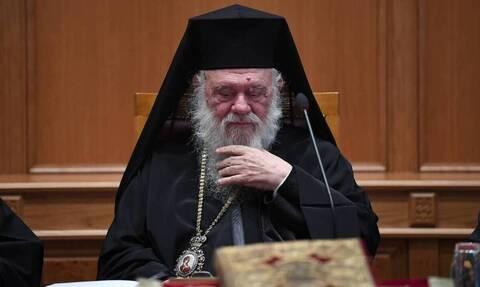 Archbishop Ieronymos admitted to hospital after testing positive for the coronavirus