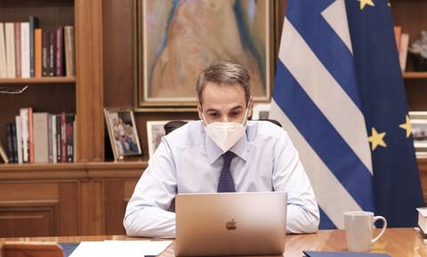 PM Mitsotakis on economists' report citing Greece: 'heartening to see our efforts...validated'