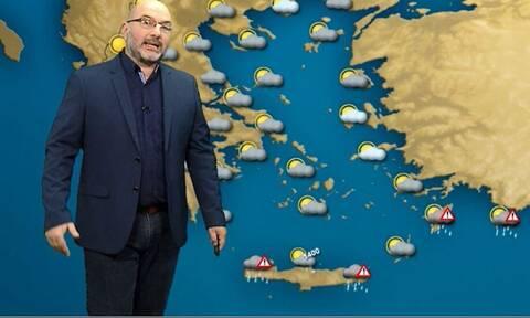 Πώς θα εξελιχθεί ο καιρός έως τις 29 Νοέμβρη; Η ανάλυση του Αρναούτογλου (vid)