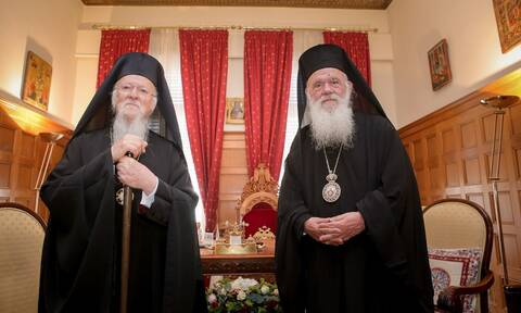 Μήνυμα συμπαράστασης του Πατριάρχη Βαρθολομαίου στον Αρχιεπίσκοπο Ιερώνυμο