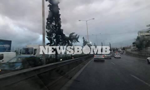 Χάος στην Εθνική Οδό Αθηνών-Λαμίας: Δύο τροχαία με διαφορά λίγων χιλιομέτρων