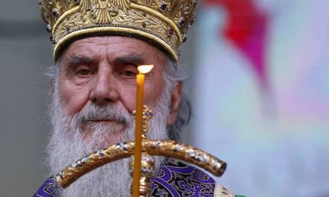 Εκοιμήθη ο Πατριάρχης Σερβίας Ειρηναίος - Nοσηλευόταν με κορονοϊό