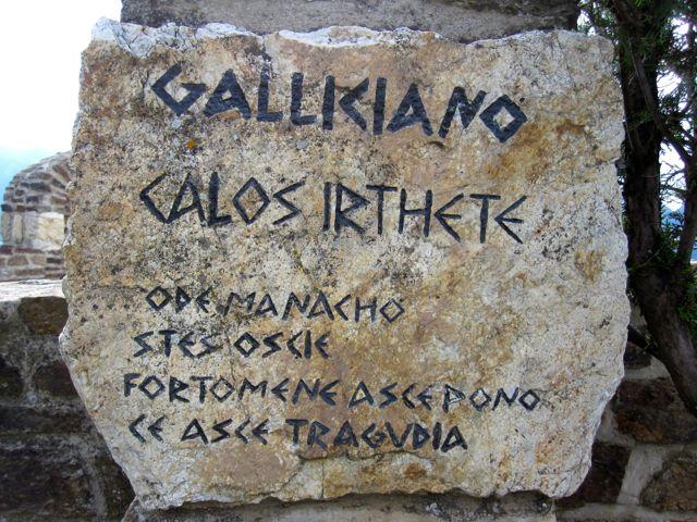 galliciano script