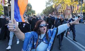 Армянская оппозиция перекрыла улицы Еревана с требованием отставки Пашиняна