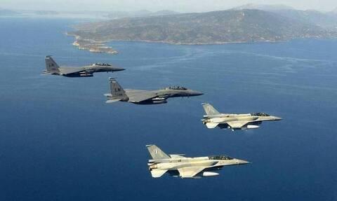 Νέα τουρκική πρόκληση: Υπερπτήση F-16 πάνω από τις Οινούσσες