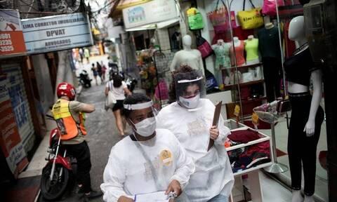Κορονοϊός - Βραζιλία: Ξεπέρασαν τα 6 εκατομμύρια τα κρούσματα
