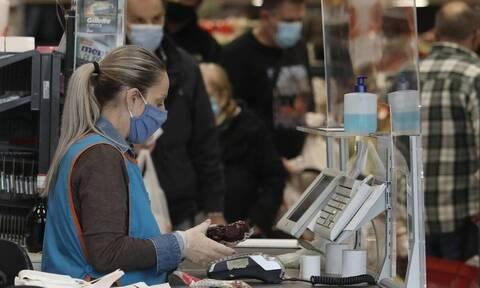 «Καμπανάκι» για τα σούπερ μάρκετ: Οι εργαζόμενοι κινδυνεύουν - Διασπορά στους κλειστούς χώρους