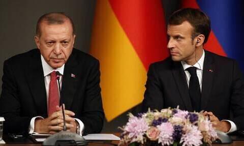 Ο Μακρόν προειδοποιεί τον Ερντογάν: «Αλλάξτε συμπεριφορά, αλλιώς... »