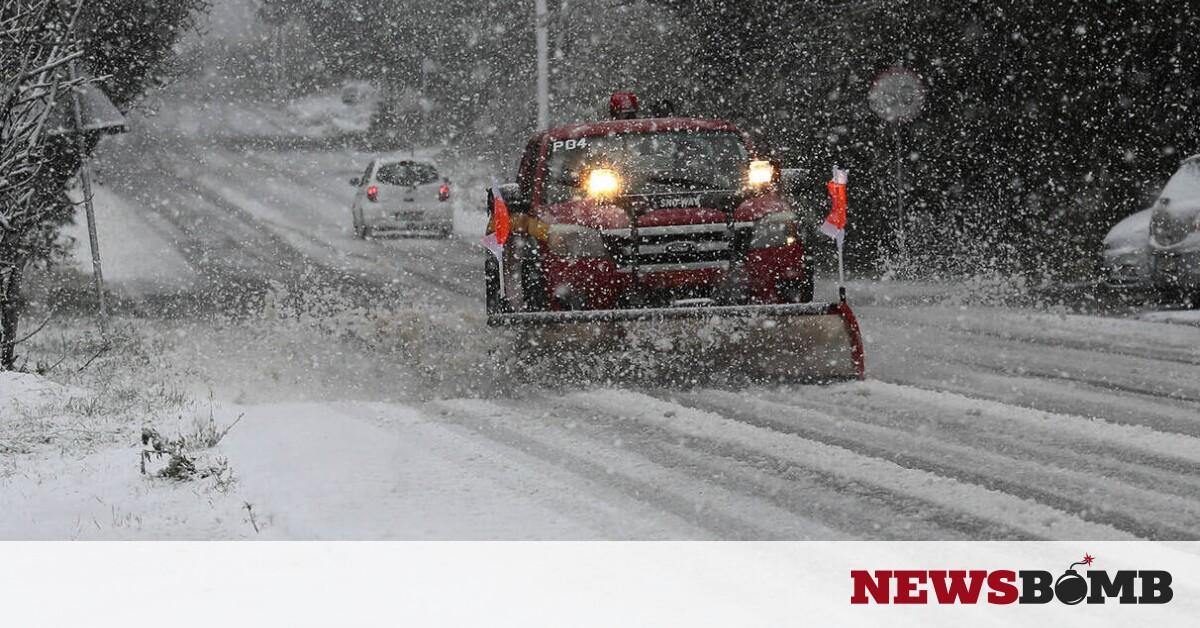 Καιρός – Προσοχή! Ψυχρή εισβολή με παγετό και χιονοπτώσεις την Κυριακή – Newsbomb – Ειδησεις