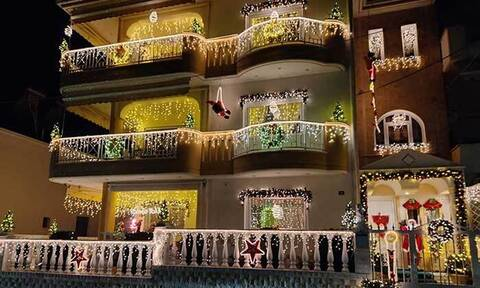Άναψε και φέτος το «Σπίτι των Χριστουγέννων» στην Κοζάνη