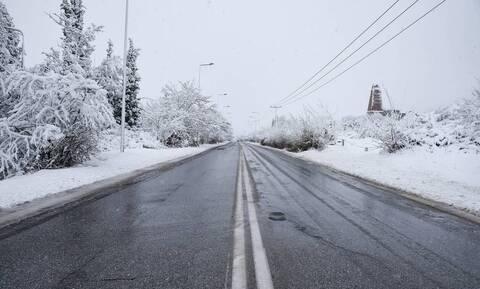 Kαιρός: Παγετός και χιονοπτώσεις την Κυριακή - Αναλυτική πρόγνωση για όλη τη χώρα