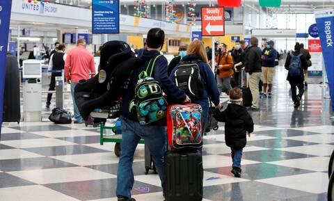 Covid-19: Eκατομμύρια Αμερικανοί θα ταξιδέψουν για την Ημέρα των Ευχαριστιών παρά τις συστάσεις