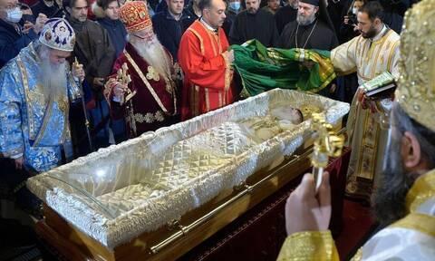 Πατριάρχης Σερβίας Ειρηναίος: Συγκίνηση στο τελευταίo «αντίο»