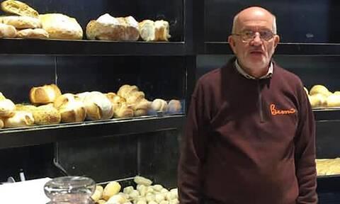 Κορονοϊός: Πέθανε ο Gianni Bernardinello, ο φούρναρης - σύμβολο που μοίραζε δωρεάν τρόφιμα