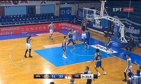 Basket League: Απίστευτο! Έβαλε buzzer beater... αυτοκαλάθι (video)