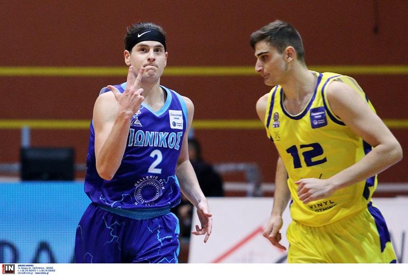 ionikos lavrio basket league