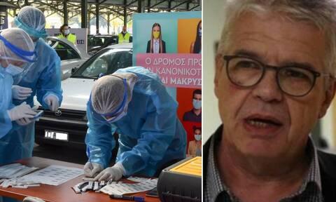 Κορονοϊός – Γώγος στο Newsbomb.gr: Τείνει προς το 1 το Rt – Όλη η προσοχή στο σύστημα υγείας