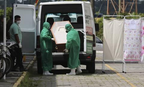 Κορονοϊός στη Βραζιλία: Πάνω από 18.600 νέα κρούσματα και 194 θάνατοι σε 24 ώρες