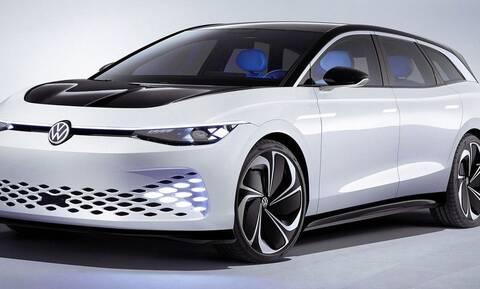 Η VW επιβεβαιώνει την παραγωγή ενός ηλεκτρικού station που θα βασίζεται στο ID. Space Vizzion