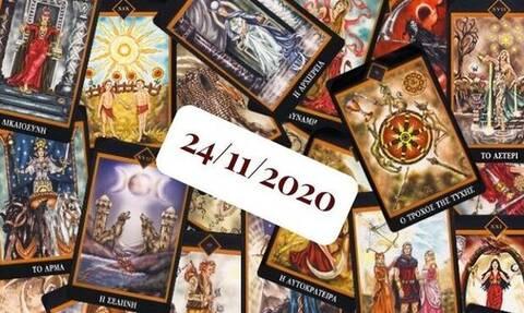 Τι προβλέπουν τα Ταρώ για σένα, σήμερα 24/11;