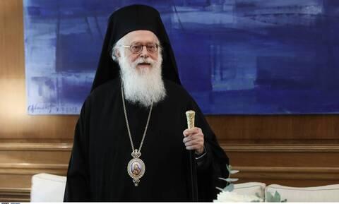 Κορονοϊός: Εξιτήριο για τον Αρχιεπίσκοπο Αλβανίας