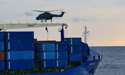 Επιχείρηση Ειρήνη: Όλα όσα έγιναν στο τουρκικό πλοίο που αρνήθηκε τον έλεγχο