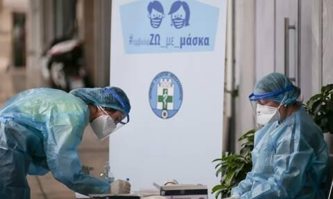 Κορονοϊός: Τι έδειξαν τα σημερινά 1.194 rapid test - Τα σημεία ελέγχων για τη Τρίτη (24/11)