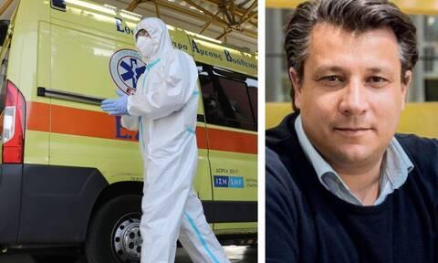 Δερμιτζάκης στο Newsbomb.gr: Πότε θα δούμε μείωση νεκρών και διασωληνωμένων