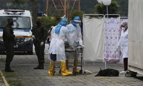 Κορονοϊός στη Βραζιλία: 16.207 κρούσματα και 302 θάνατοι σε 24 ώρες