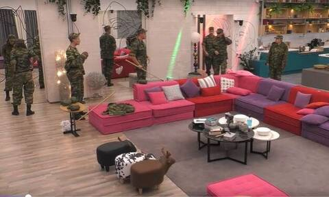 Big Brother: «Στρατόπεδο» έγινε το σπίτι – Το πρόβλημα του Θέμη (video)
