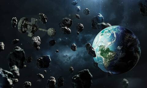 Αστεροειδής σε μέγεθος ουρανοξύστη κατευθύνεται προς τη Γη με ταχύτητα 90.000 χλμ. την ώρα
