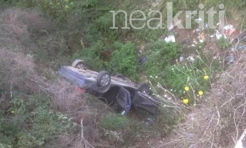 Κρήτη: Πτώση ΙΧ από γέφυρα - Νεκρός ο οδηγός