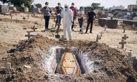 Κορονοϊός στη Βραζιλία: Ξεπέρασαν τους 170.000 οι νεκροί από COVID-19