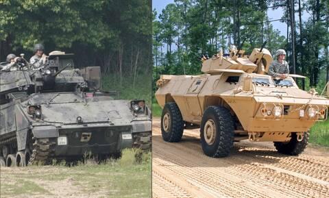 Στρατός Ξηράς: «Κλειδώνει» Έβρο και νησιά με νέα τεθωρακισμένα - Ποια είναι τα M1117 και τα Bradley