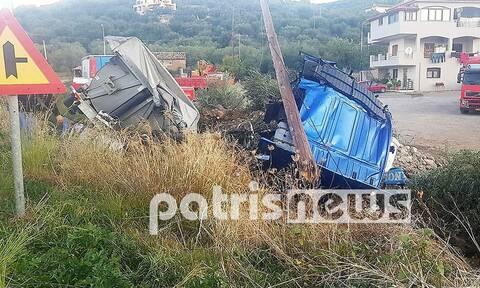 Γιαννιτσοχώρι: Τραγωδία στην άσφαλτο - Νεκρός σε τροχαίο 24χρονος οδηγός νταλίκας