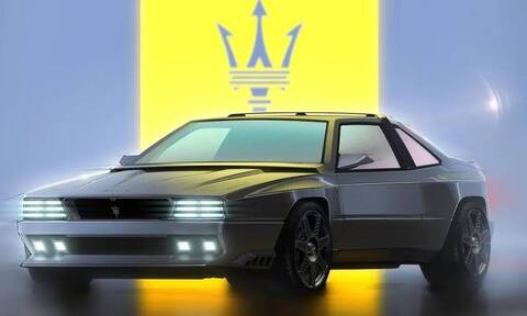 H Maserati Shamal είναι ένα νοσταλγικό ταξίδι στα 90's