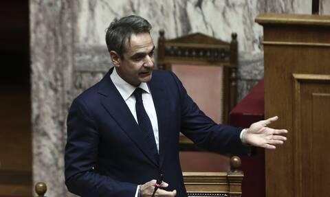Παρέμβαση Μητσοτάκη στη Βουλή