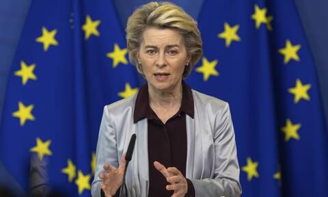 Φον ντερ Λάιεν: Οι πρώτοι πολίτες της ΕΕ μπορεί να έχουν εμβολιαστεί πριν το τέλος Δεκεμβρίου