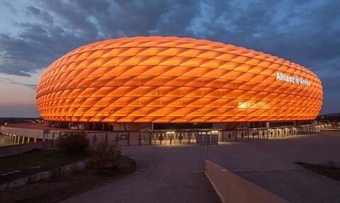 Το γήπεδο της Μπάγερν έγινε πορτοκαλί ενάντια στη βία κατά των γυναικών