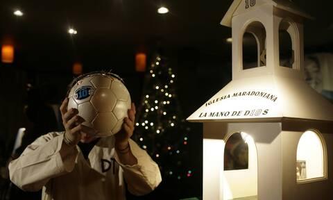Ντιέγκο Μαραντόνα: Σαν «Θεός» του ποδοσφαίρου είχε και την δική του εκκλησία