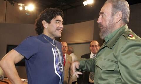 Ντιέγκο Μαραντόνα: Πέθανε ίδια μέρα με τον Φιντέλ Κάστρο – Η φιλία τους και το τατουάζ στο πόδι