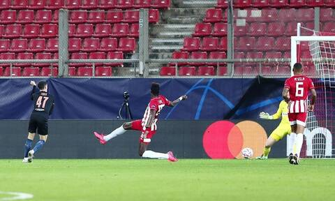 Champions League – Ολυμπιακός: Δεν άντεξε στην πίεση της Μάντσεστερ Σίτι – Δείτε το γκολ
