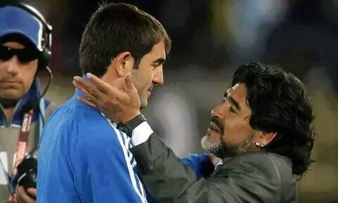 Ντιέγκο Μαραντόνα: Το συγκινητικό «αντίο» του Καραγκούνη - «Μαζί σου ερωτευτήκαμε το ποδόσφαιρο»