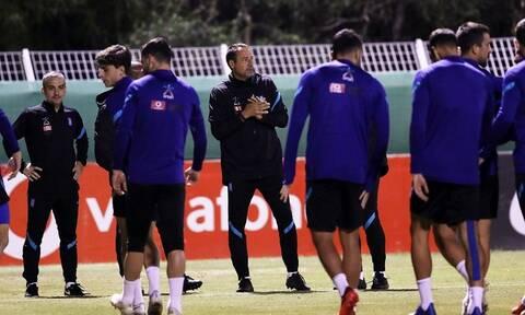 Κορονοϊός – Εθνική ομάδα: Νέο κρούσμα στη «γαλανόλευκη»