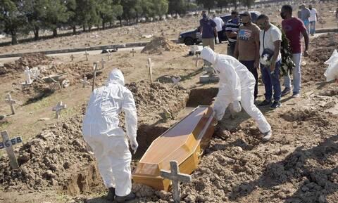 «Θερίζει» ο κορονοϊός τη Βραζιλία: 47.898 κρούσματα και 654 θάνατοι τις προηγούμενες 24 ώρες