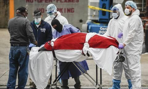 Κορονοϊός ΗΠΑ: 2.439 νεκροί σε 24 ώρες - Ο μεγαλύτερος απολογισμός των τελευταίων 6 μηνών