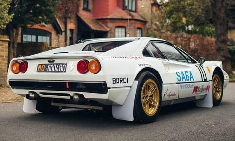 Ακούγεται περίεργο αλλά αυτή η Ferrari 308 GTB έτρεχε σε ράλι